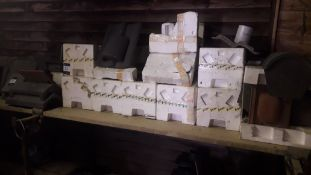 Quantity of Various In-Line Vent Tiles