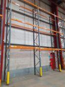 Single Row of 7.5m Dexion/Ramada Demountable Pallet Rack