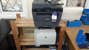 Brother MFC L27200W All in One Printer HP Laserjet P2055DN Printer