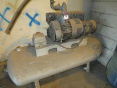 Receiver mounted compressor