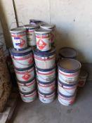 18 x 8 litre International Interzinc 52 grey Pat A and 8 x 5 litre Intergard 475HS Part B, 8 x 8 lit