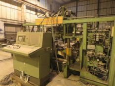 2003 Peddinghaus TDK1000/3/9 3 axis/9 spindle drilling rig with Peddingham stamping unit