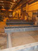 Set of 5 x twin beam heavy duty bogeys