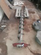 Large machine auger 12T approx length 2800mm. This lot is Buyer to Remove.