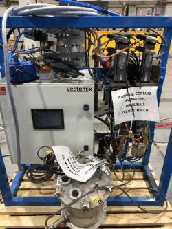 Online Auction of 2017 Dopag Vectomix, 2017 Hodge Clemco Shot Blasting Machine and an Unused EWM Tetrix 300 TIG Welder