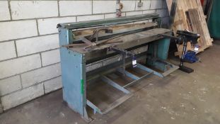 E J Edwards 6/18 T/G Mechanical Guillotine Serial Number 690/27277