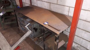 Steel Work Bench 180x75x90 and Steel Table 80x60x8