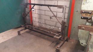 Bespoke Steel Fabricated Jig
