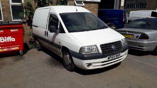 Fiat Scudo 2.0 JTD 8V SX Dynamic Van, Registration
