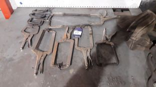 Quantity of Various Clamps