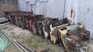 Quantity of Approx. 30 Land Rover Bulk Heads for Refurbishment