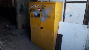 Armorgard Safestor Hazardous Double Door Cabinet a