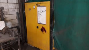 Armorgard Safestor Hazardous Double Door Cabinet and Contents