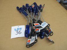 Engineer's screwdrivers