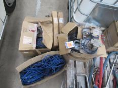 Box of Load Cells, Cables etc .