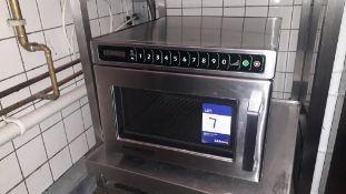 Menu Master DEC18E2U 1800w Commercial Microwave Se