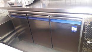 Dalmec PPCT7031N Stainless Steel Triple Door Under