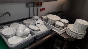 Quantity of Crockery to Kitchen