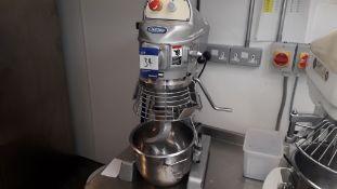 Chefquip SP-100-B 10Ltr Planetary Mixer Serial Num