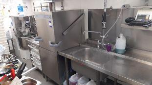 Winterhalter PTM Pass Through Stainless Steel Dish