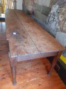 Mediterranean Farmhouse Table 360cmx90cm