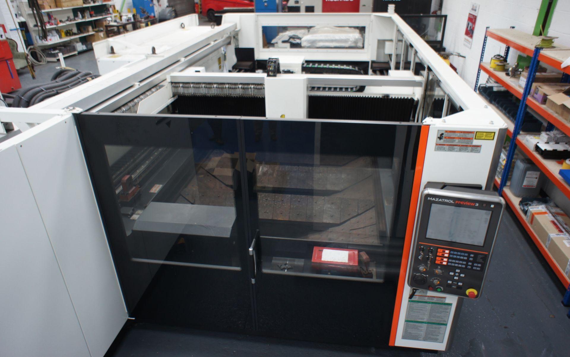 2015 - Mazak OptiPlex 4020 II Laser Cutting Machin - Image 3 of 15
