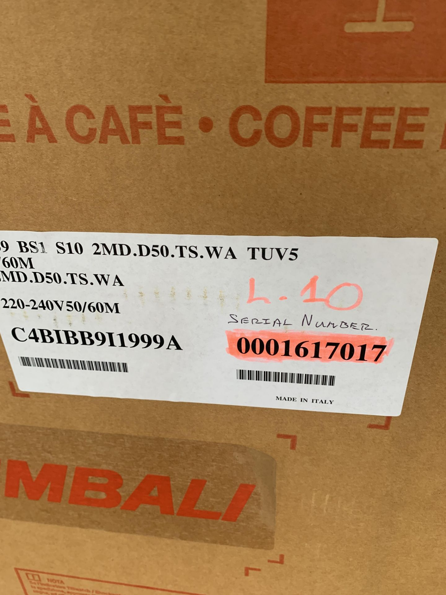 A unused La Cimbali S39 TE Bar System Bean to Cup - Image 5 of 6