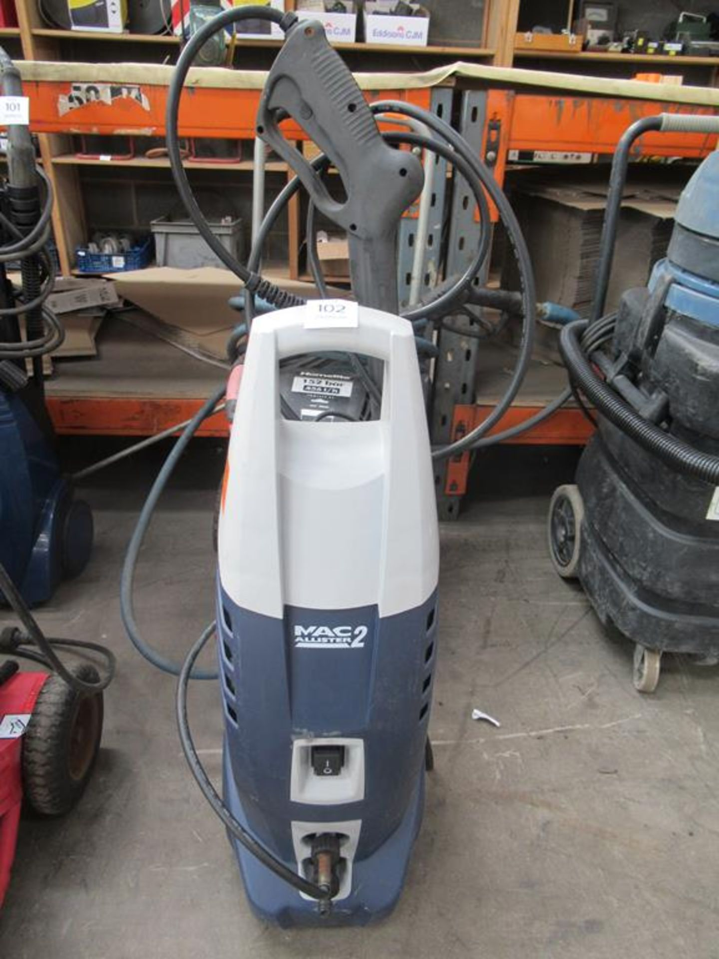 MacAllister electric pressure washers