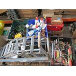 Pallet of automotive equipment/consumables