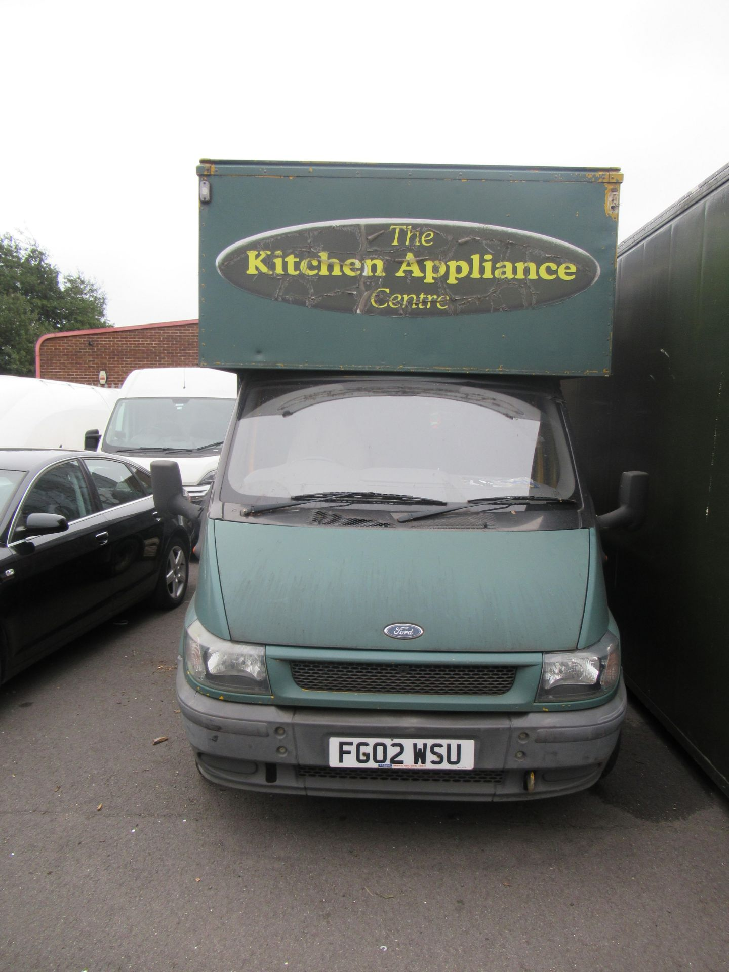 Ford 90 T350 transport van with tail lift