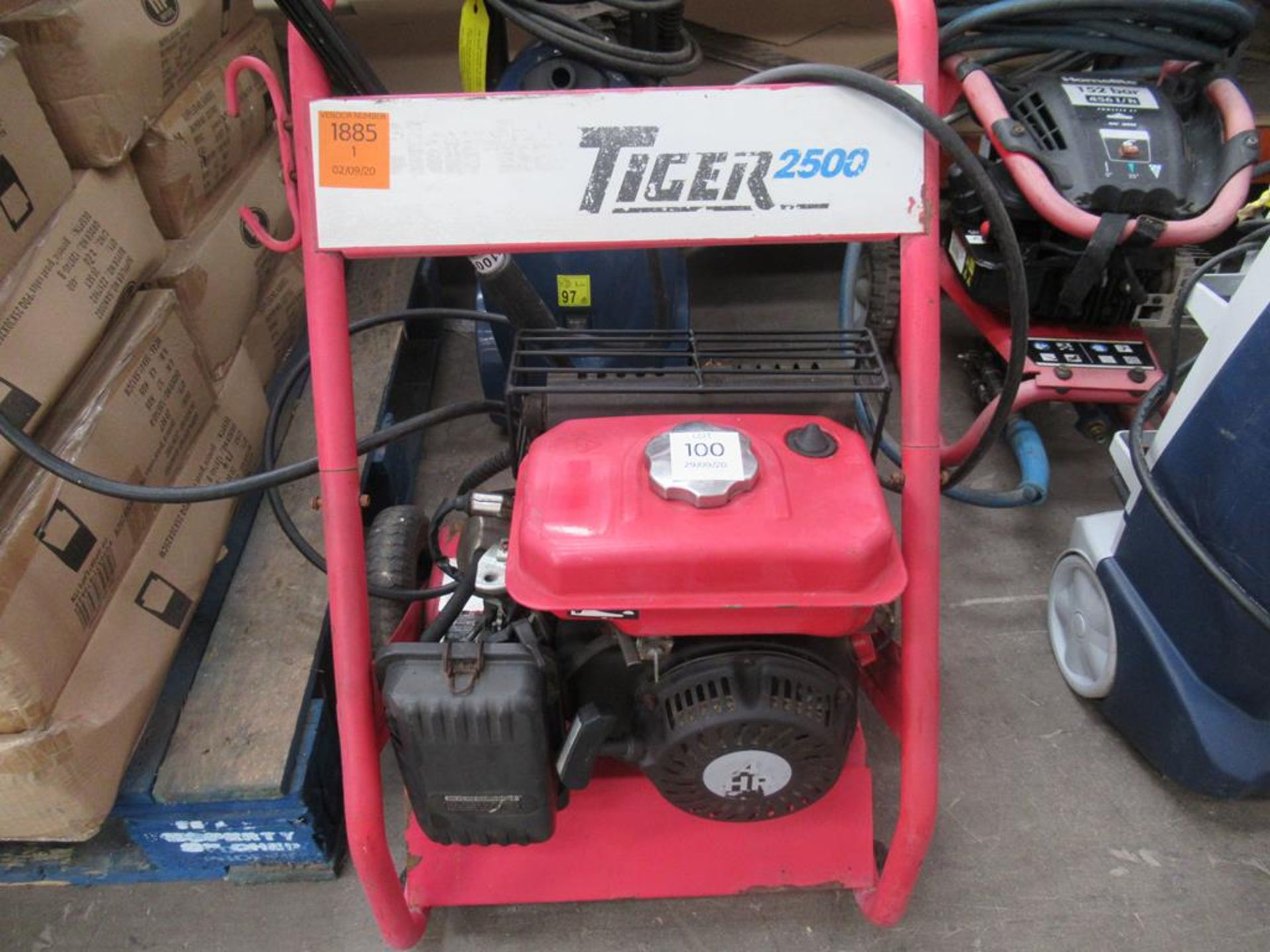 Clarke Tiger 2500 petrol powered pressure washer - Image 2 of 2