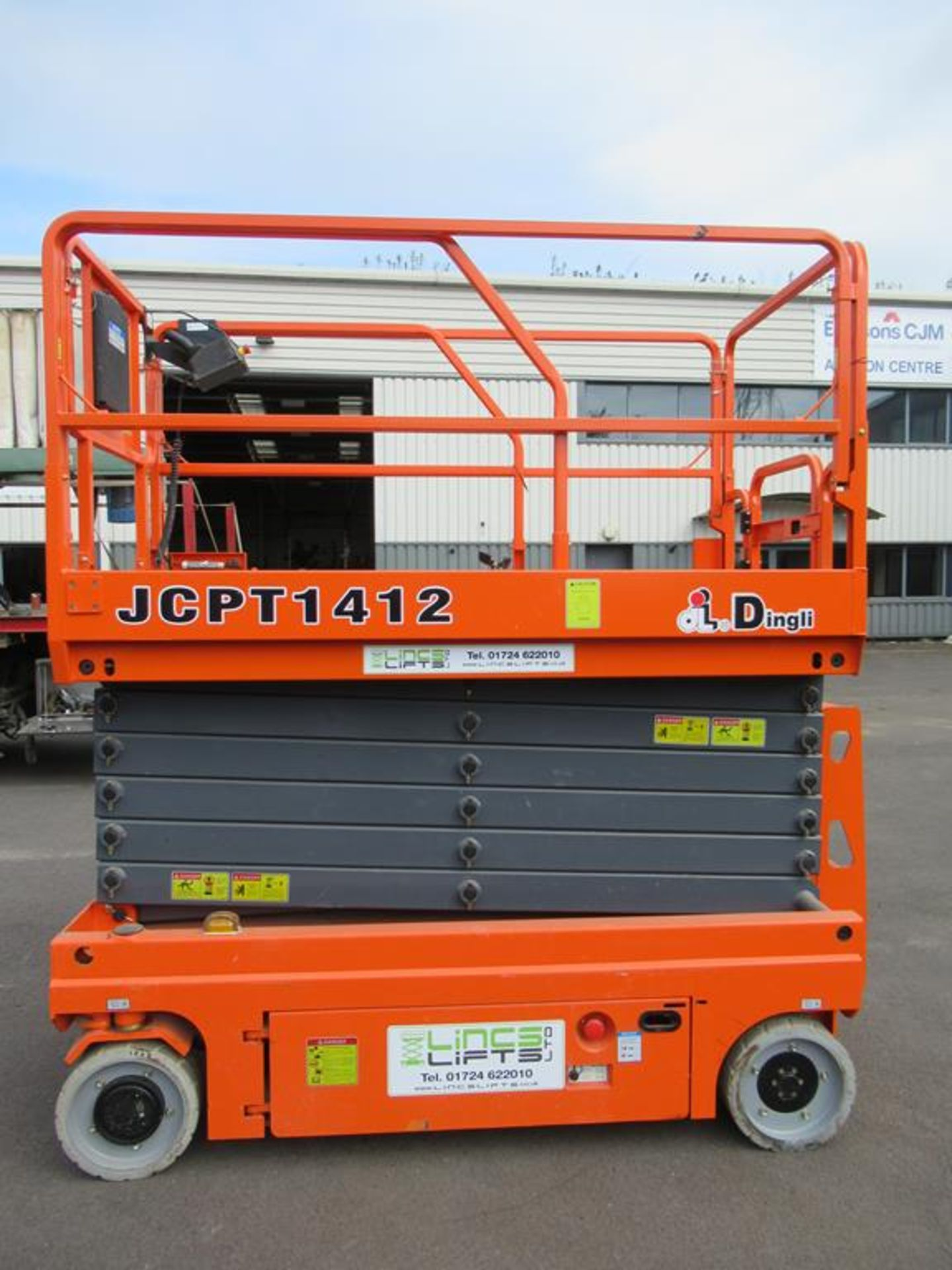 Dingli JCPT 1412 DC 24V electric scissor lift - Image 2 of 6