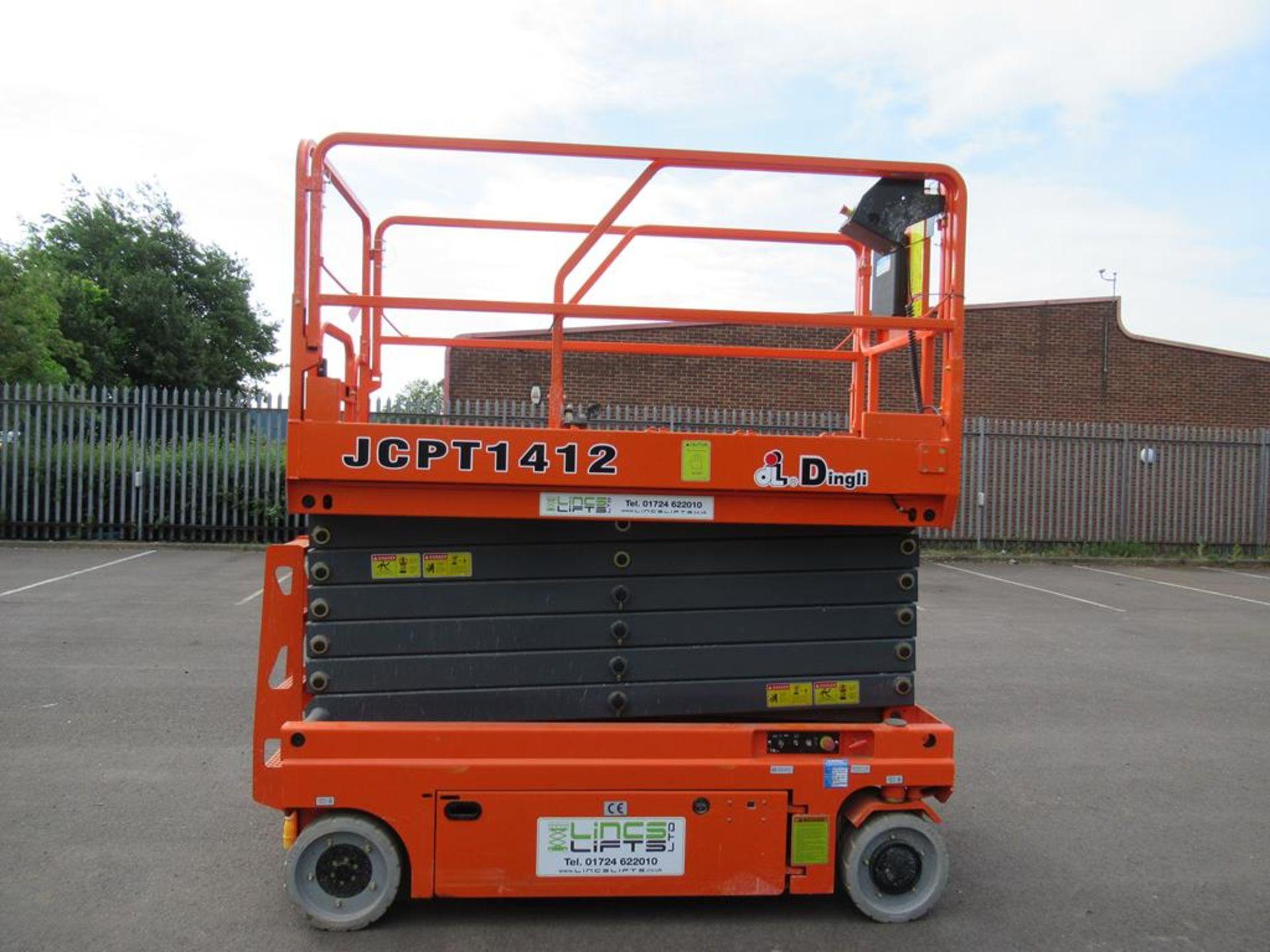 Dingli JCPT 1412 DC 24V electric scissor lift
