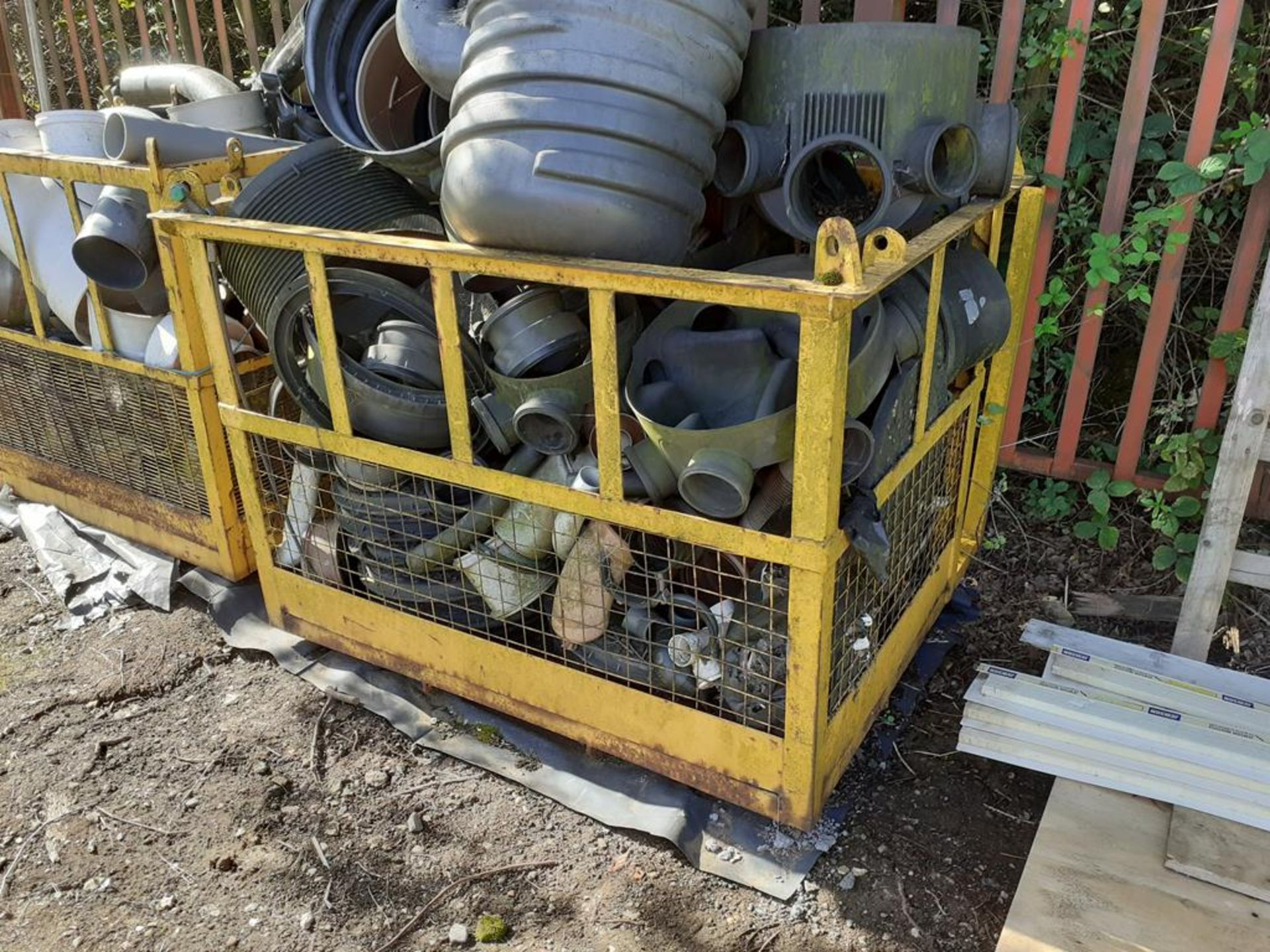 Forklift safety cage
