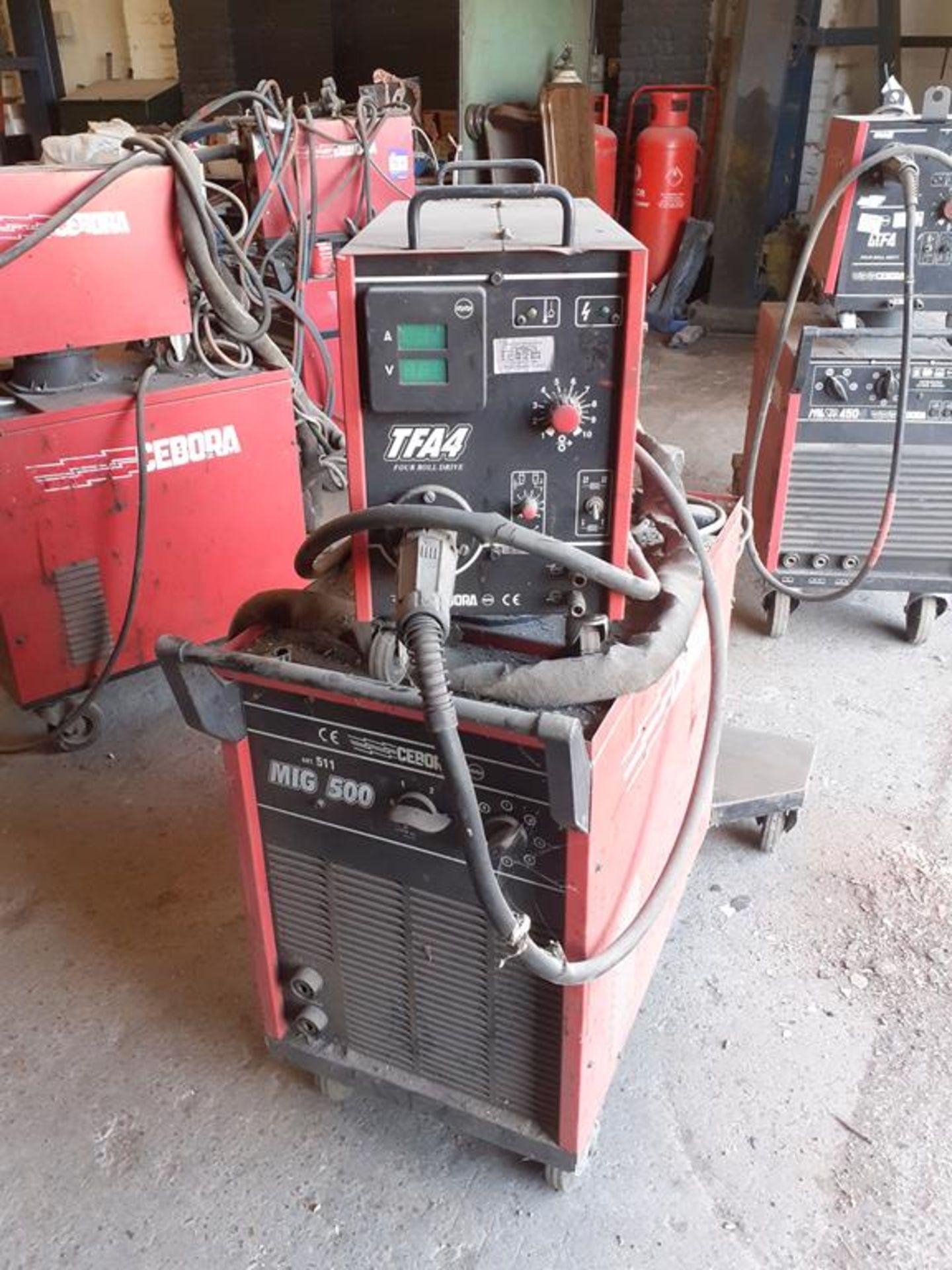 Cebora MIG 500 Mig welder