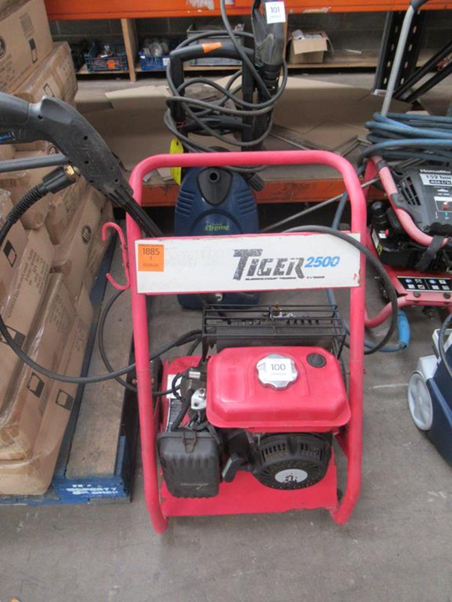Clarke Tiger 2500 petrol powered pressure washer