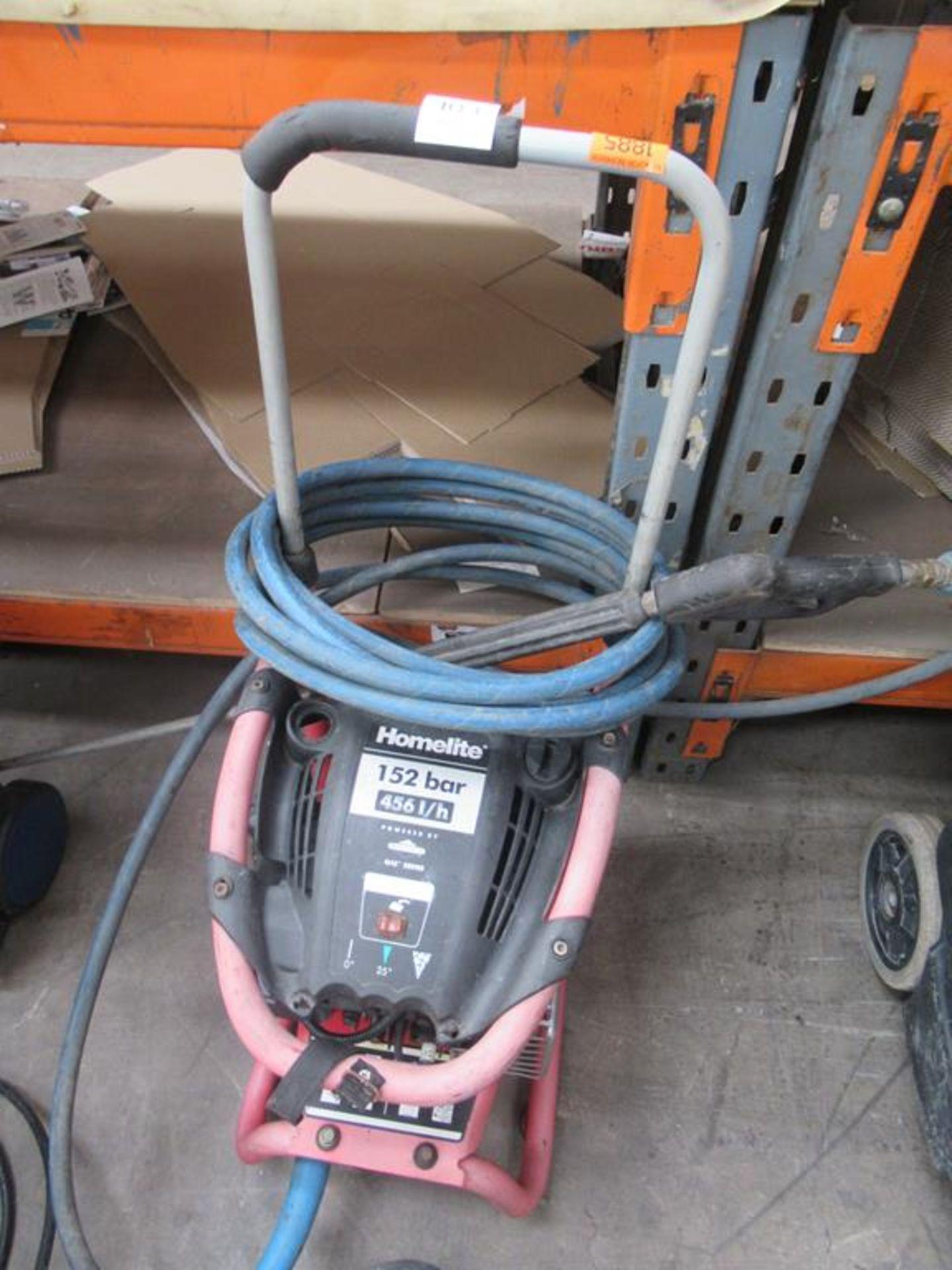 Homelite Q45 series petrol powered pressure washer