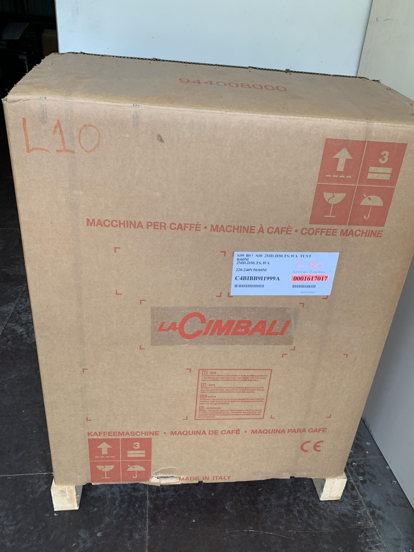 A unused La Cimbali S39 TE Bar System Bean to Cup - Image 9 of 9