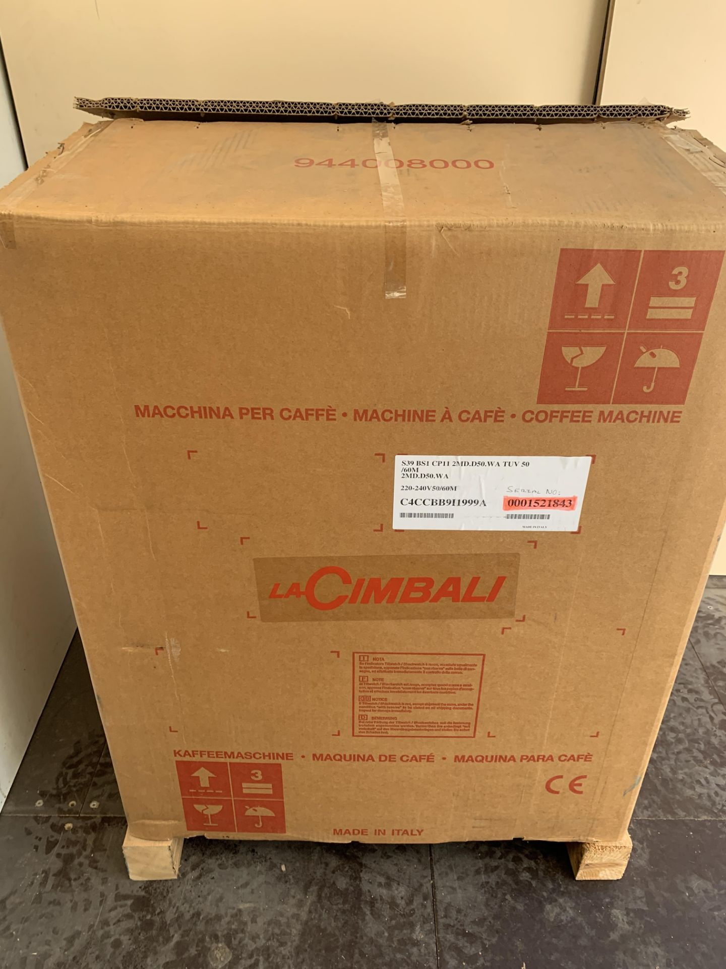 A unused La Cimbali S39 TE Bar System Bean to Cup - Image 6 of 7