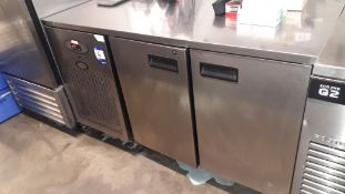 Foster Pro1/2LA Stainless Steel Double Door Counter Freezer – Located 85 Scoresby Street, London,