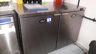 Foster HR360 Stainless Steel Double Door Counter Refrigerator – Located 85 Scoresby Street,