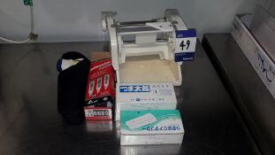 Hygiplas Infra Red Thermometer, PH Meter & Vegetable Slicer – Located 85 Scoresby Street, London,