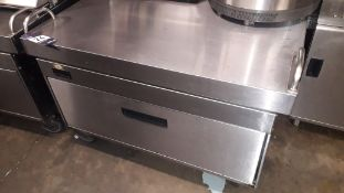 Adande Stainless Steel undercounter single drawer low fridge/freezer – Locate
