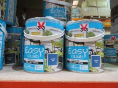4,831 items of various new and sealed paints. Including 500ml, 750ml, 1L, 1.5L, 2L, 2.5L. From