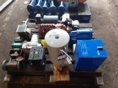 Pallet to contain M&C SP2000 Gas Probe, Gas Valve, Goodyear Transmitter, etc.
