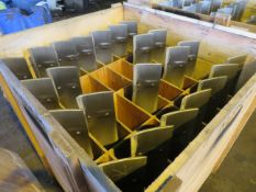 Crate to contain 23 Alstom Steam Turbine Blades