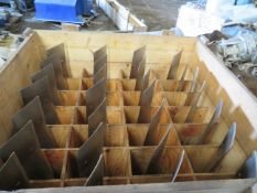 Crate to contain 28 Alstom Steam Turbine Blades