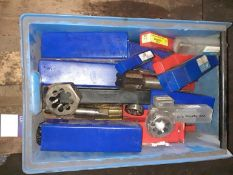 Box to contain qty of various taps