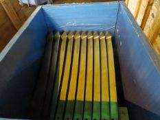 Crate to contain 38 Alstom Steam Turbine Blades