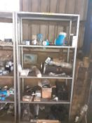 5 x Shelves to Contain Various Electrical Components, Flow Meters, etc.